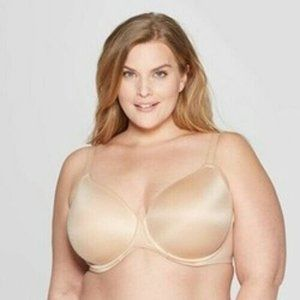 Plus Size Superstar Lightly Lined T-shirt Bra 42DD